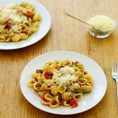 Gnocchi Bolognaise with vegetables