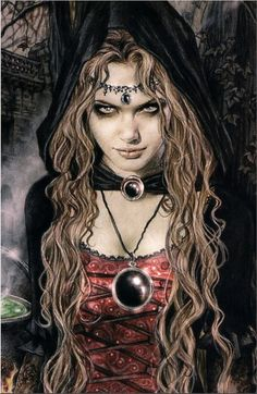 Victoria Frances the artist who made this and not Luis Royo, as someone described that this masterpiece belongs to