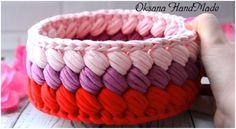 Learn To Crochet Beautiful Basket