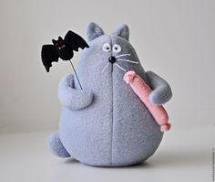 Fleece cat toy