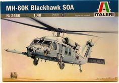 MH-60K Blackhawk SOA Italeri 2666 1/48 New Military Helicopter Model Kit