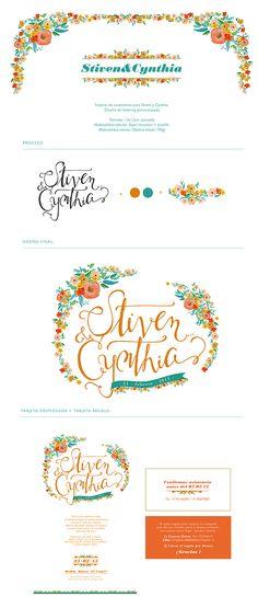 Stiven&Cynthia - Wedding Cards on Behance