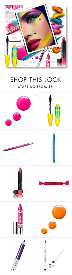 """""""Colorfest..."""" by desert-belle ❤ liked on Polyvore featuring beauty, Topshop, Universal, Maybelline, Urban Decay, Too Faced Cosmetics, Trilogy, Laura Geller, Clinique and Marc Jacobs"""