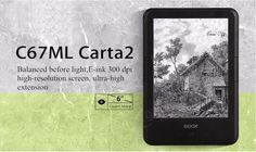 ONYX BOOX C67ML Carta2 300ppi Ebook Reader 8G Wi-Fi Android HD Touch Screen Sale - Banggood.com