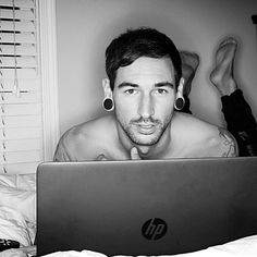 Michael Bohn - screamed vocals in the band Issues http://instagram.com/p/x8Yh-0GDYC/