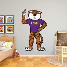 Fathead NCAA LSU Mascot - Mike The Tiger Wall Decal - 61-61884