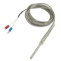 K Type 50X5mm 800C Probe Thermocouple Temperature Sensor Cable 9.8Ft 3 Meters, 2015 Amazon Top Rated Temperature Controllers #BISS