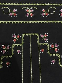 Palestinian Embroidery, Prayer Rug, Hand Embroidery Patterns, Diy And Crafts, Cross Stitch, Herb, Needlepoint, Punto De Cruz, Dots