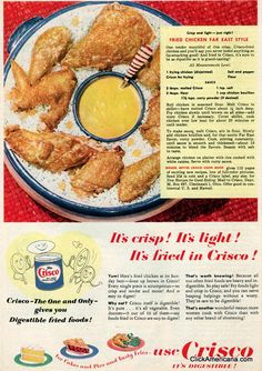 Fried chicken, Far East Style (1950)