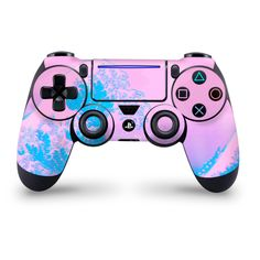 Kanagawave Slim/Pro Controller Skin, High quality vinyl that's easy to apply with air escape adhesive available in multiple finishes Ps4 Controller Custom, Game Controller, Cool Ps4 Controllers, Mundo Dos Games, Hydro Dipping, Epic Games Fortnite, Cool Electronics, Cute Gif, Videogames