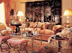 William R Eubanks Interior Design, Inc. - eclectic - Living Room - New York - William R. Eubanks Interior Design, Inc. House Design, Classical Interior Design, Room Design, Decor, Interior Design, Classic Interior Design, Luxury Home Decor, Beautiful Living Rooms, Home Decor