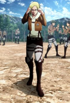 Browse Annie Leonhardt Attack on titan shingeki no kyojin collected by Miho and make your own Anime album. Eren X Mikasa, Armin, Titan Manga, Snk Annie, Female Titan, Attack On Titan Aesthetic, Annie Leonhart, Fighting Poses, Aot Characters