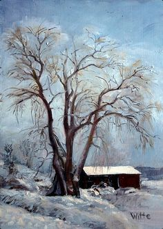 """Winter Blues"" by Marie Witte"
