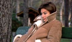 """Anouk Aimee in """"A Man and A Woman"""""""