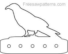 Crow craft pattern