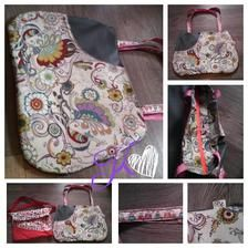 Handmade bag for kids - Handmade taška pro děti #handmade #accessories #bag #modrykonik
