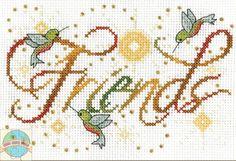 Design Works - Friends - Cross Stitch World