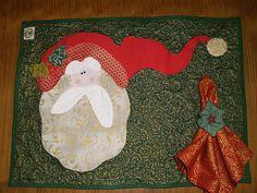 Jogo Americano Papai Noel! | Jogo Americano Papai Noel Art t… | Flickr