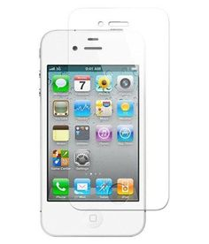 Apple Iphone 4s Tempered Glass Screen Guard By Kartoption