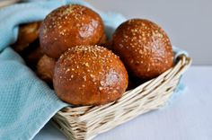 Pretzel Rolls from Tasty Kitchen will be hitting my belly - perhaps this weekend!