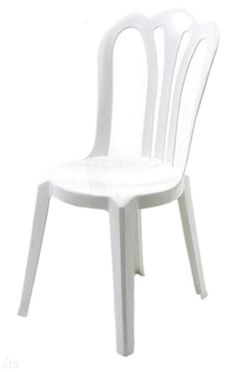White Resin Stacking Chairs - If the seats in your dining room table are beginning to look beyond their best, then you've