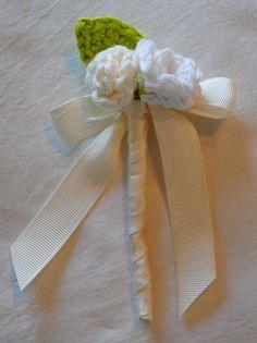 Bridal Bouquet and Boutonniere - The Yarn Box The Yarn Box