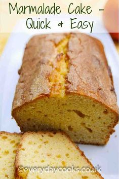 Sep 2019 - Marmalade Loaf Cake is made with the all-in-one method. This plain, but fruity cake is good with coffee and travels well. Healthy Cake Recipes, Baking Recipes, Sweet Recipes, Indian Cake, Fall Cakes, Loaf Cake, Almond Cakes, Food Menu, Food Food