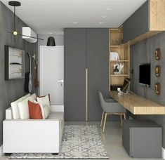 inspiring home office design ideas for small spaces with affordable office . - inspiring home office design ideas for small spaces with affordable office … inspiring home office design ideas for small spaces with affordable office … Home Office Space, Home Office Decor, Home Decor, Office Ideas, Office Setup, Office Organization, Small Office, Small Home Offices, Modern Offices
