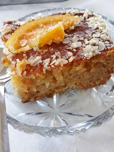 Greek Sweets, Greek Desserts, Pastry Cake, How To Make Cake, French Toast, Recipies, Pudding, Baking, Biscotti