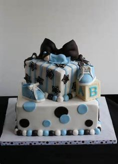 baby shower boy cakes - Yahoo! Image Search Results