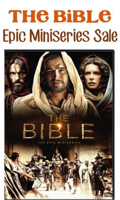 @Trish Smith and @Laura Giddens -- Thought you might want to know about this, too!!  The Bible - Epic Miniseries 4-DVD Set Sale: $24.99!