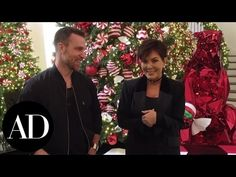 The Kardashian-Jenner's 2016 Holiday Décor Revealed | Architectural Digest - YouTube