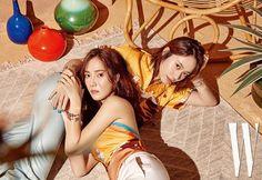 Jessica & Krystal Jung - W Magazine May Issue Sooyoung, Yoona, Kim Hyoyeon, Snsd, Krystal Jung, Jessica & Krystal, Korean Celebrities, Beautiful Celebrities, Kpop Girl Groups