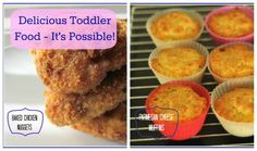 Parmesan Cheese Muffins and Baked Chicken Nuggets for toddlers from @Alison Lee and @EverydayFamily