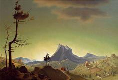 Franz Sedlacek, Evening Landscape, 1933