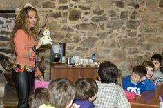 Pontecesco (Galicia), jugando con los niños y aplicando valores. Relativo a mi libro ¡A jugar! (juegos para que los niños aprendan buenos hábitos)