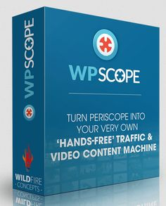 [Huge] WP Scope Review – WordPress Plugin That Turns Periscope's Traffic, Content & Fan Power Into Your Personal Traffic Factory And Drive Traffic To Your Website While You Rake In The Profits On Auto Pilot