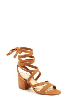 Ivanka Trump 'Ellyn' Lace-Up Sandal (Women) available at #Nordstrom