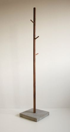 clothes tree coat stand Stammhalter walnut by BPistorius on Etsy