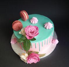 drippcake Fondant, Birthday Cake, Desserts, Food, Wedding Pie Table, Sugar, Dessert Ideas, Fondant Icing, Birthday Cakes