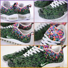 RARE Mens Nike Air Max 97 JD SP Jacquard RIO Digital Camo Running/Training Shoes