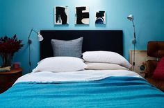 Brightly Colored Bed