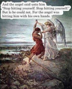 The heavenly bullying: