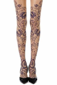 5afc8ee540190 29 Best Tattoo Tights images | Tattoo tights, Sheer tights, Print tights