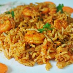 """Last week when I got some prawns, D said, """" You know what I like (which is stir fried prawns). But if you want to try out something new, make it spicy."""" I was quite pleased with the statement as I really wanted to something new, which was easy to prepare. Now the challenge was to find the right reci"""