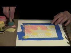 excellent...Techniques For Using Stencils In Your Art