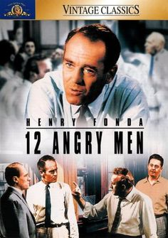 12 Angry Men, 1957, Sidney Lumet - there should be a Henry Fonda in every jury room. This movie should be required watching for all jurors.