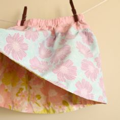 reversible skirt tutorial and some other good tutorials on this site