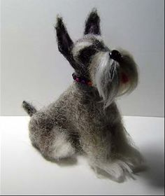 custom felted dog 99.00 (kinda pricey but very nicely done)