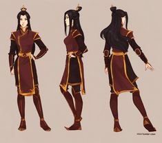 um...some sort of a fun concept thing of a young Zuko's daughter I guess? I have never really tried it out, so I figured I may Though I am not very good in all this keeping proportions and facial f...
